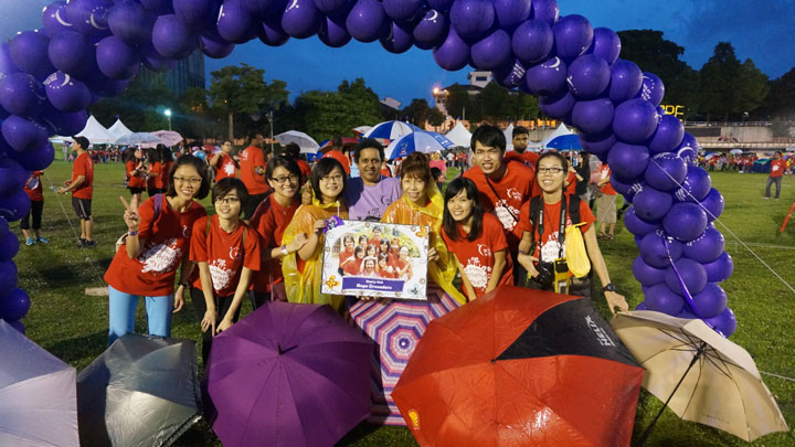 Relay for Life – Henry Goh Hope Crusaders