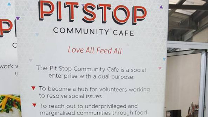 Pit Stop Community Cafe – Love All Feed All