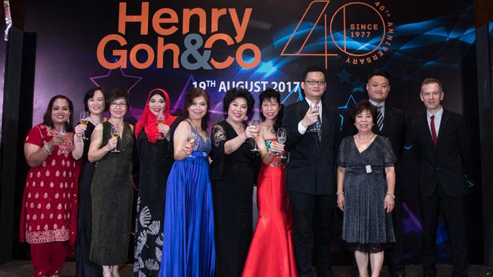 Henry Goh's 40th Anniversary Celebration