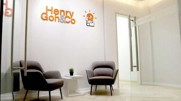 Henry Goh at Vision Exchange