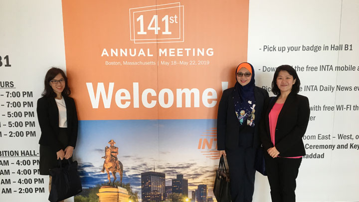 INTA 141st Annual Meeting in Boston, Massachusetts<br>18 – 22 May 2019